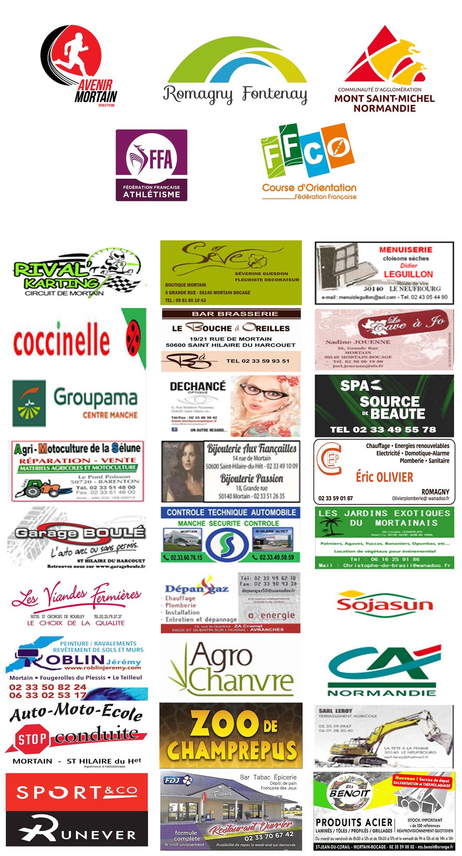 Trail des Cascades sponsors